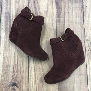 Primary Photo - BRAND: DOLCE VITA STYLE: BOOTS ANKLE COLOR: BURGUNDY SIZE: 6 SKU: 178-178168-6973