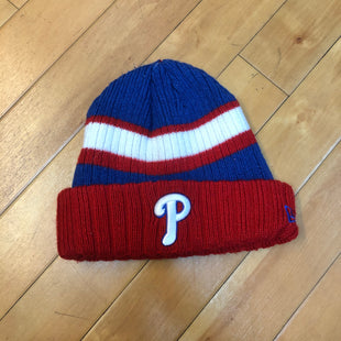 Primary Photo - BRAND: N/ASTYLE: HAT COLOR: RED BLUE OTHER INFO: PHILLIES SKU: 178-178199-1635