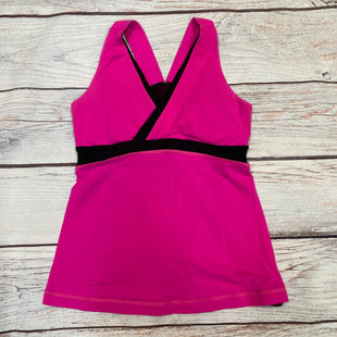 Primary Photo - BRAND: LULULEMON STYLE: ATHLETIC TANK TOP COLOR: PINK SIZE: M OTHER INFO: SZ 8 BLACK DETAIL SKU: 178-178212-4813