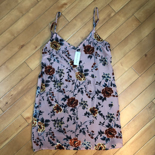 Primary Photo - BRAND: LA HEARTS STYLE: DRESS SHORT SLEEVELESS COLOR: FLORAL SIZE: M OTHER INFO: MAUVE/ORANGE/YELLOW/GREY/NAVY SKU: 178-178102-58497