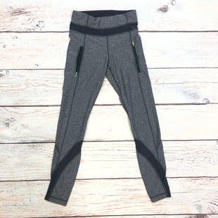Primary Photo - BRAND: LULULEMON STYLE: ATHLETIC CAPRIS COLOR: GREY SIZE: XS OTHER INFO: SIZE 2-PLUM UNDERTONE SKU: 178-178212-6201