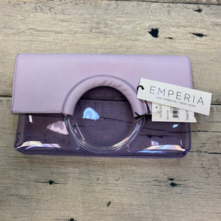 Primary Photo - BRAND: NORDSTROM STYLE: CLUTCH COLOR: LAVENDER OTHER INFO: NEW! EMPERIA-CLEAR/VEGAN LTHR SKU: 178-178102-57620