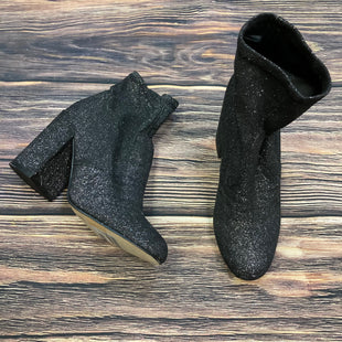 Primary Photo - BRAND: EXPRESS STYLE: BOOTS ANKLE COLOR: SPARKLES SIZE: 7 OTHER INFO: BLACK W/ SILVER SPARKLES-SLIGHT SCUFFING SKU: 178-178102-54307