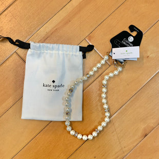 Primary Photo - BRAND: KATE SPADE STYLE: NECKLACE COLOR: PEARL OTHER INFO: PEARL/DIAMOND NECKLACE SKU: 178-178214-743