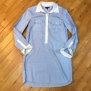 Primary Photo - BRAND: GAP O STYLE: DRESS SHORT LONG SLEEVE COLOR: BLUE SIZE: S SKU: 178-178192-2418