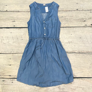 Primary Photo - BRAND: GAP STYLE: DRESS SHORT SLEEVELESS COLOR: DENIM SIZE: XS OTHER INFO: NEW! SKU: 178-178174-1649
