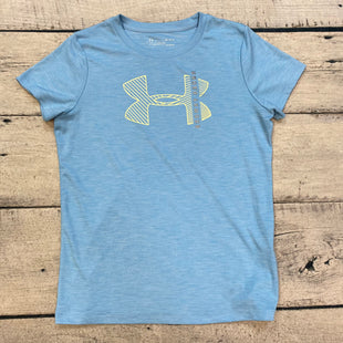 Primary Photo - BRAND: UNDER ARMOUR STYLE: ATHLETIC TOP SHORT SLEEVE COLOR: BLUE SIZE: S SKU: 178-178203-4605