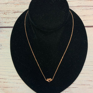 Primary Photo - BRAND: KATE SPADE STYLE: NECKLACE COLOR: GOLD OTHER INFO: LOVES ME KNOT PENDANT SKU: 178-178212-6105
