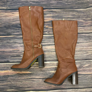 Primary Photo - BRAND: LC LAUREN CONRAD STYLE: BOOTS KNEE COLOR: CAMEL SIZE: 8 SKU: 178-178102-54485