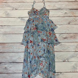 Primary Photo - BRAND: BEBE STYLE: DRESS LONG SLEEVELESS COLOR: FLORAL SIZE: M OTHER INFO: NEW! BLUE/RED/TAN SKU: 178-178102-63227