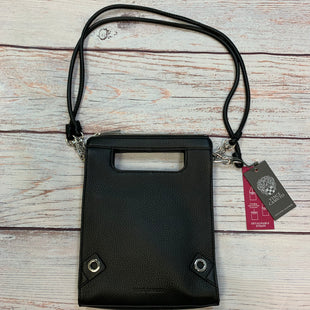 Primary Photo - BRAND: VINCE CAMUTO STYLE: HANDBAG LEATHER COLOR: BLACK SIZE: SMALL OTHER INFO: NEW! SILVER TRIM SKU: 178-178212-6153