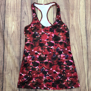 Primary Photo - BRAND: LULULEMON STYLE: ATHLETIC TANK TOP COLOR: FLORAL SIZE: S OTHER INFO: RED/MAROON/BLUE/GREEN/BLACK SKU: 178-178102-56287