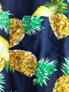 Men's Short Sleeve Pineapple Cotton Shirt
