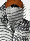 Men's Casual Striped Cotton Shirt