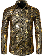 Men's Classic Casual Paisley Print Shirt