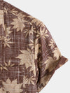 Men's Casual Holiday Pocket Hawaiian Shirt