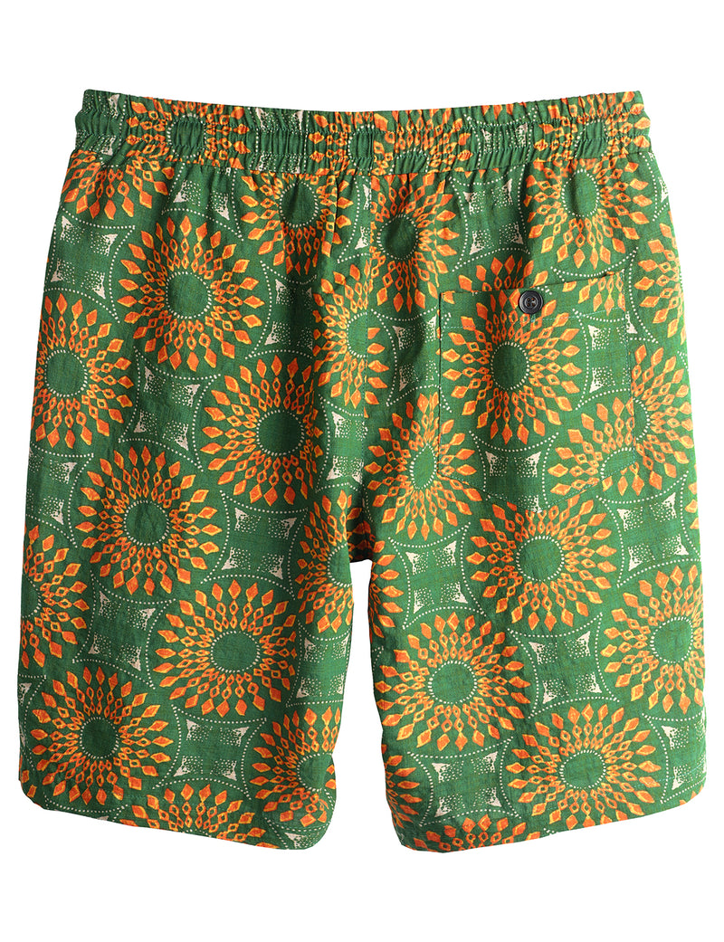 Men's Hawaiian Casual Cotton Shorts