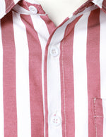 Men's long sleeve striped shirt