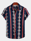 Men's Retro Short Sleeve Cotton Shirts