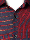 Men's Casual Striped Long Sleeve Shirt