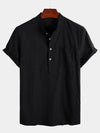 Men's Short Sleeve Casual Holiday Shirt