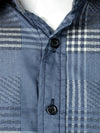 Men's Cotton Long Sleeve Plaid Shirt