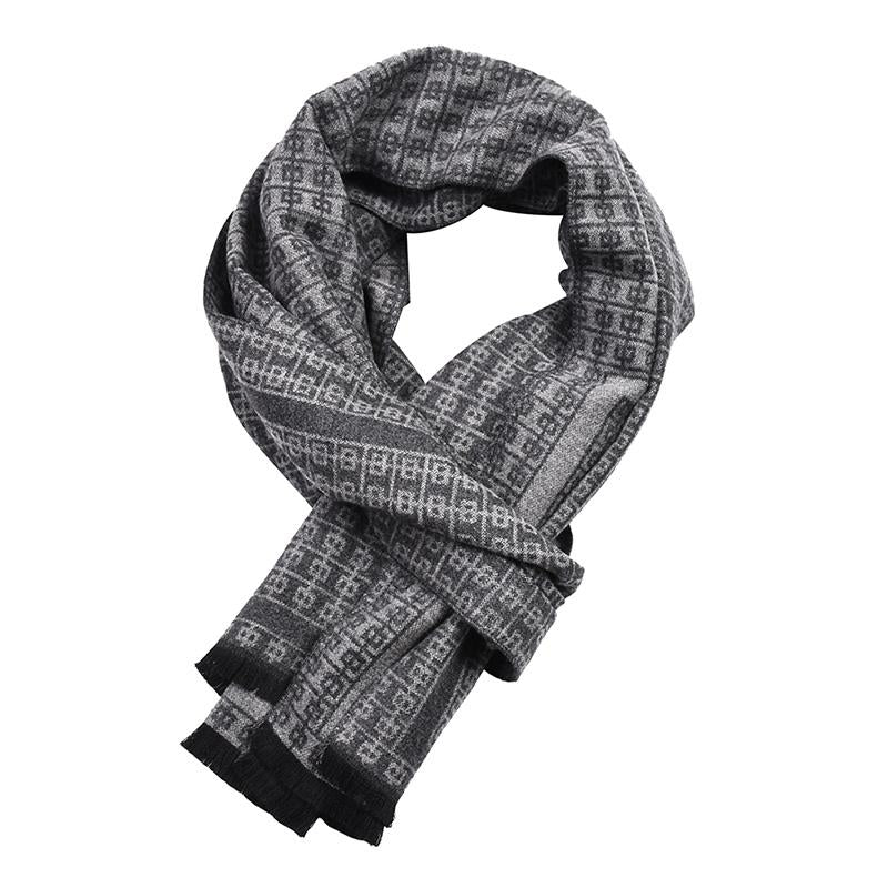 Men's Soft And Lightweight Warm Fashion Scarf