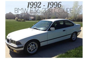 1992-1996 BMW 3 SERIES E36 2 DOOR COUPE - PRE-FACELIFT