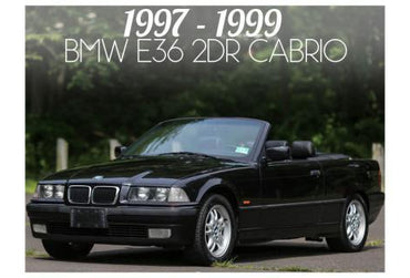 1997-1999 BMW 3 SERIES E36 CONVERTIBLE - FACELIFT
