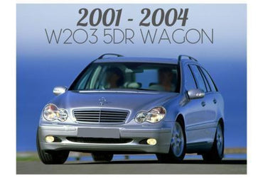 2001-2004 MERCEDES W203 C CLASS 5 DOOR WAGON - PRE-FACELIFT