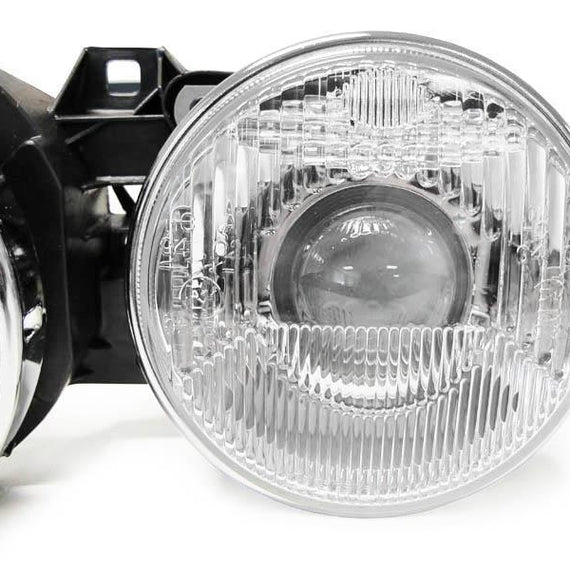 1984-1991 BMW E30 3 Series DEPO Euro Smiley Projector Glass Lens Headlights