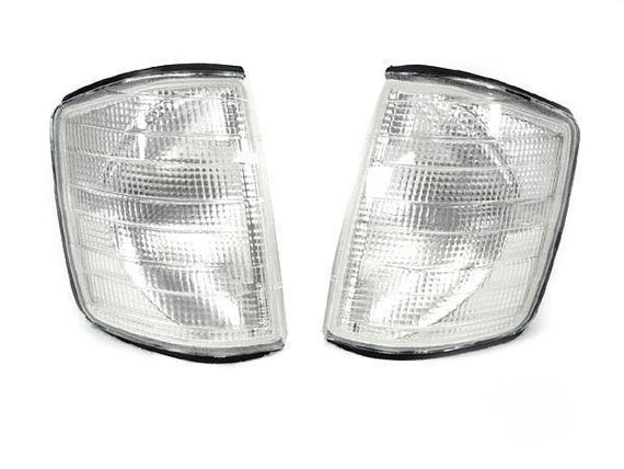 1984-1993 Mercedes S Class W201 190D / 190E DEPO Clear or Smoke Corner Signal Lights