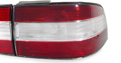 1990-1994 Lexus LS400 DEPO JDM Style Red/ Clear Rear Red 4 Pieces Tail Lights For US Spec vehicles-Lighting-DEPO- Description Fitment • 1990-1994 Lexus LS400 (For US SPEC Only) Features • JDM Style Red / Clear Red Tail lamps instead the ordinary red/amber/red tail light from stock on your US/Canadian models of LS400 which by now is probably faded/damaged anyway. Time to give it a facelift, Get the real JDM VIP look! • Simple Plug & Play - No Error after Installation. OEM-Like Fitment. Contents •