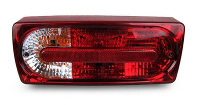1990-2006 Mercedes G Class W460 / W463 DEPO 2007+ Facelift Style Red / Clear Rear Tail Light Set-Lighting-DEPO- Description Fitment • 1990-2006 Mercedes Benz W463 G Class G Wagon Features • As seen on 2007+ facelift model with crystal style of lens. • Perfect upgrade for your G Class to have the latest facelift look with only fractional of the cost on what the dealer would charge. • D.O.T / S.A.E approved - 100% street legal. • Excellent OE Quality with perfect fit & finish. • Outside red / clea