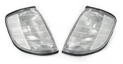 1992-1999 Mercedes S Class W140 DEPO Clear or Smoke Corner Signal Lights-Lighting-DEPO- Description Fitment • 1992-1999 Mercedes Benz W140 S-Class - All Models except 2D Coupe(US / Canadian Spec Vehicles) Features • Available in either Clear or Smoke Lens. • For smoke version, unique Smoke Lens is not tinted on or painted on, it is manufactured that way. Therefore, it will not fade. The smoke color shown may appear darker or lighter, due to photo lighting. • Simple Plug & Play - No Error after i