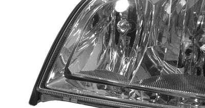 1992-1999 Mercedes S Class W140 Euro Crystal Style Clear Headlight with Fog Light + Matching Corner Signal Light Set Made by DEPO-Lighting-DEPO- Description Fitment • 1992-1999 Mercedes Benz W140 S-Class 4 Door Sedan with Factory Halogen Models Features • Euro Crystal Clear Lens, gives a most updated look for your Mercedes Benz while provide better visibility. • Comes with the matching corner signal light. • Optional Black housing or Chrome housing. Contents • 4 Piece Set (Left + Right) - Made b