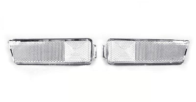 1993-1999 VW Golf / GTI / Jetta Mk.3 / 1995-1999 VW Cabrio DEPO Clear or Smoke Front Bumper Side Marker Light-Lighting-DEPO- Description Fitment • 1993-1999 Volkswagen Golf Mk.3 / GTi • 1993-1999 Volkswagen Jetta Mk.3 • 1995-1999 Volkswagen Cabrio (Mk.3 Models Only) (US / Canadian Spec Vehicles) Features • Available in Clear or Smoke Lens. • For Smoke version, the unique smoke lens is not tinted on or painted on, it is manufacturer that way. Therefore, it will not fade. The smoke color shown may
