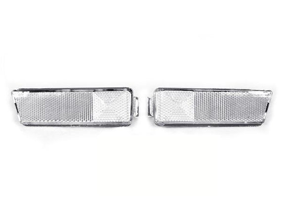 1993-1999 VW Golf / GTI / Jetta Mk.3 / 1995-1999 VW Cabrio DEPO Clear or Smoke Front Bumper Side Marker Light