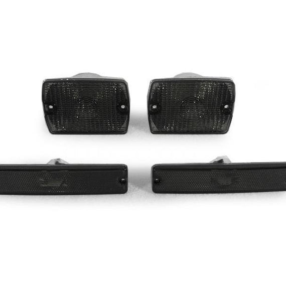 1994-1995 Jeep Wrangler YJ DEPO Clear or Smoke Bumper Signal Lights + Side Marker Lights