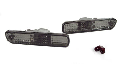 1994-1997 Honda Accord / Honda Prelude DEPO Clear or Smoke Side Marker Lights-Lighting-DEPO- Description Fitment • 1994-1997 Honda Accord • 1998-2002 Honda Accord - 2D Coupe Models Only • 1992-1996 Honda Prelude • 1997-2001 Honda Prelude - To be used on Front Bumper Only (US / Canadian Spec Vehicles) Features • Available in Crystal Clear or Crystal Smoke Lens. • For Smoke Version, Unique Smoke Lens is not tinted or painted on, it is manufactured that way. Therefore, it will not fade. The smoke c