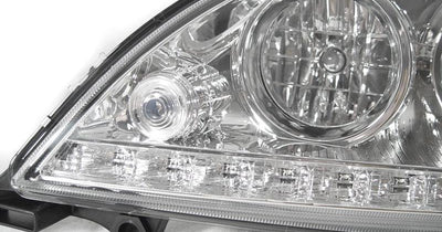 "1998-2001 Mercedes M Class W163 White LED Strip Projector Headlight For Halogen Models Made by DEPO-Lighting-DEPO- Description #matty {padding: 10px;width: 100%;height: auto; background-color: #eeeeee;}#matty p{font-family: Gotham, ""Helvetica Neue"", Helvetica, Arial, ""sans-serif"";font-size: 13px;}#matty h1{font-family: Gotham, ""Helvetica Neue"", Helvetica, Arial, ""sans-serif"";font-size: 18px; color: #CC9900;}#matt {padding: 10px;width: 100%;height: auto; background-color: #ffffff;}#matt p{font-fa"