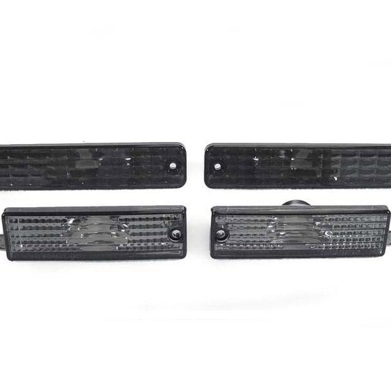 1998-2002 Pontiac Firebird / Trans Am DEPO Front + Rear Clear or Smoke Bumper Side Marker Lights