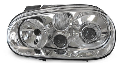 "1999-2005 VW Golf / GTi Mk. 4 R32 Style DEPO Projector Glass Lens Headlight With Optional Xenon HID-Lighting-DEPO- Description#matty {padding: 10px;width: 100%;height: auto; background-color: #eeeeee;}#matty p{font-family: Gotham, ""Helvetica Neue"", Helvetica, Arial, ""sans-serif"";font-size: 13px;}#matty h1{font-family: Gotham, ""Helvetica Neue"", Helvetica, Arial, ""sans-serif"";font-size: 18px; color: #CC9900;}#matt {padding: 10px;width: 100%;height: auto; background-color: #ffffff;}#matt p{font-fam"