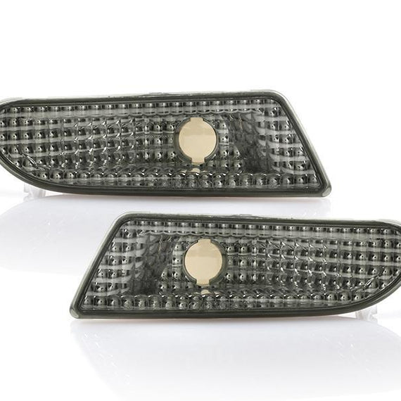 2000-2006 Mercedes S Class W220 DEPO Crystal Clear or Smoke Front Bumper Side Marker Light