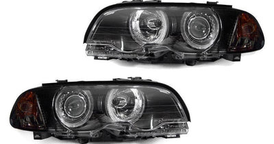 "2002-2003 BMW 3 Series E46 2D Coupe / Convertible & 2002-2006 E46 M3 DEPO Angel Eye Projector Headlight with Optional UHP LED Halo Rings For Stock Halogen Models-Lighting-DEPO- Description #matty {padding: 10px;width: 100%;height: auto; background-color: #eeeeee;}#matty p{font-family: Gotham, ""Helvetica Neue"", Helvetica, Arial, ""sans-serif"";font-size: 13px;}#matty h1{font-family: Gotham, ""Helvetica Neue"", Helvetica, Arial, ""sans-serif"";font-size: 18px; color: #CC9900;}#matt {padding: 10px;width:"
