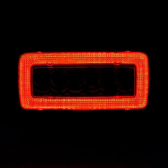 2002-2018 Mercedes W463 G Class Wagon USA Red/Clear or Smoke LED Light Bar Rear Bumper Reverse + Fog Lamp