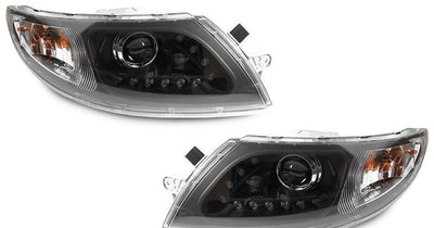 "2002-2019 International Truck / 2002-2019 International Durastar / Transtar White LED Strip Chrome or Black Projector Headlights-Lighting-DEPO- Description #matty {padding: 10px;width: 100%;height: auto; background-color: #eeeeee;}#matty p{font-family: Gotham, ""Helvetica Neue"", Helvetica, Arial, ""sans-serif"";font-size: 13px;}#matty h1{font-family: Gotham, ""Helvetica Neue"", Helvetica, Arial, ""sans-serif"";font-size: 18px; color: #CC9900;}#matt {padding: 10px;width: 100%;height: auto; background-co"