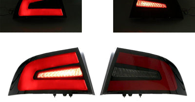 "2004-2008 Acura TL NSX Style Black/Red/Smoke LED Light Bar Tail Light Set with Circuit Board Housing-Lighting-DEPO- Description #matty { padding: 10px; width: 100%; height: auto; background-color: #eeeeee; } #matty p{ font-family: Gotham, ""Helvetica Neue"", Helvetica, Arial, ""sans-serif""; font-size: 13px; } #matty h1{ font-family: Gotham, ""Helvetica Neue"", Helvetica, Arial, ""sans-serif""; font-size: 18px; color: #CC9900; } #matt { padding: 10px; width: 100%; height: auto; background-color: #ffffff"