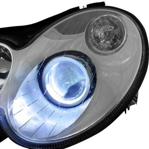 2005-2006 Mercedes Benz C Class W203 AMG C55 DEPO OEM Replacement Bi-Xenon Projector Headlight