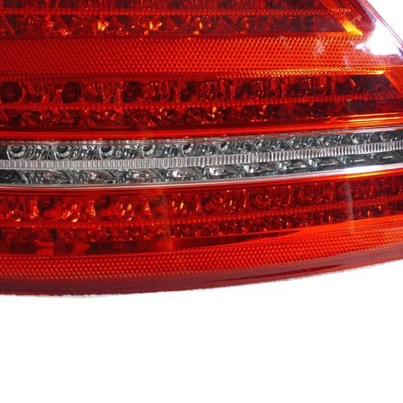 2007-2009 Mercedes S Class W221 Facelift Style Red/Clear or Red/Smoke LED Rear Tail Light Made by DEPO